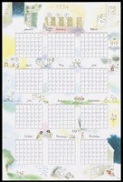 view A calendar for the year 1994 by Nitka featuring cartoon scenes with condoms; produced by the Folkhälsoinstitutet RFSU [?]. Colour lithograph, ca. 1994.
