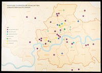 view The map : your guide to services for young gay men, lesbians & bisexuals in London