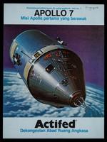 view Apollo 7 : misi Apollo pertama yang berawak : Actifed dekongestan abad ruang angkasa / Wellcome Foundation Ltd.