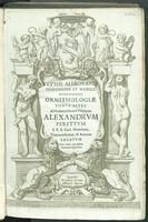 view Vlyssis Aldrovandi ... Ornithologiae tomvs alter ... : Cum indice copiosissimo variarum linguarum.