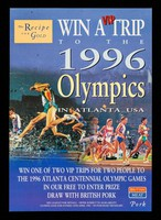 view Win a VIP trip to the 1996 Olympics in Atlanta USA ... : in our free to enter prize draw with British pork