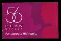 view 56 Dean Street : fast accurate HIV results / Chelsea and Westminster Hospital NHS Foundation Trust.