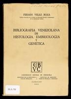view Bibliografía venezolana de histología, embriología y genética
