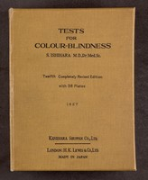 view Tests for colour-blindness / by Shinobu Ishihara.
