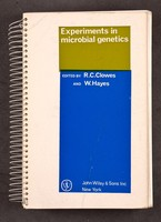 view Experiments in microbial genetics