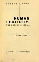 view Human fertility : the modern dilemma
