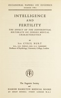 view Intelligence and fertility : the effect of the differential birthrate on inborn mental characteristics