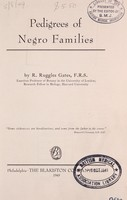 view Pedigrees of Negro families