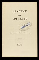 view Handbook for speakers