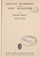 view Sexual harmony and the new eugenics
