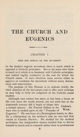 view The Church and eugenics