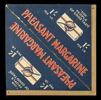 "view Pheasant margarine : ""for people of good taste"" : 1/- per LB."