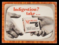 view Indigestion? : take... Moorland Antacid Indigestion Tablets for the relief of indigestion, heartburn, dyspepsia, flatulence, acidity.