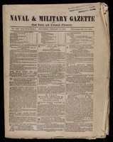 view 6 issues of the Naval and Military Gazette and East India and Colonial Chronicle (weekly), 15 Jan-19 Feb 1853