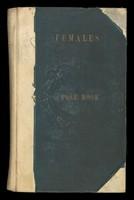 view Case notes, female patients, 1884-1893
