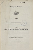view [Report of the Medical Officer of Health for Willesden].