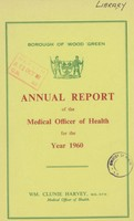 view [Report of the Medical Officer of Health for Wood Green].