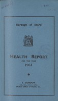view [Report of the Medical Officer of Health for Ilford].