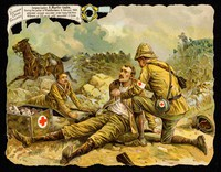 view Victoria cross gallery : Surgeon-Captain A. Martin-Leake : during the action at Vlakfontein 8, February 1902 attended several wounded under heavy fire from 40 Boers at 100 yards until wounded 3 times.