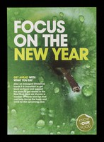 view Focus on the new year : get ahead with what you eat : after an indulgent Christmas and new year it is important to get back on track ... / Compass Group Holdings plc.