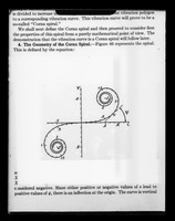 "view Copy of a printed graph representing the geometry of a Cornu spiral referenced as ""Cornu spiral"""