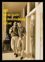 view AIDS hat ein Gesicht : die Herausforderung sind wir / Deutsche AIDS-Hilfe ; Foto Ingo Taubhorn.