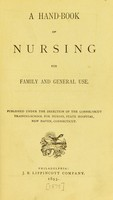view A hand-book of nursing for family and general use.