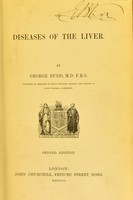 view On diseases of the liver / by George Budd.