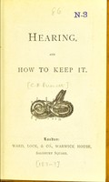 view Hearing and how to keep it