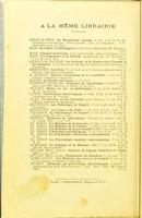 view La psychologie du raisonnement, recherches expérimentales par l'hypnotisme / par Alfred Binet.