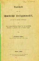 view Denkschrift über die schwedische Heilgymnastik : als eine der wichtigsten Erfindungen und ihren ausserordentlichen Nutzen für das menschliche Befinden in gesunden und in kranken Tagen / von Friedrich Becker.