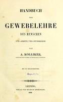 view Handbuch der Gewebelehre des Menschen : für Aerzte und Studirende / von A. Kölliker.
