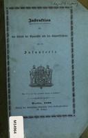 view Instruktion für den Betrieb der Gymnastik und des Bajonettfechtens bei der Infanterie.
