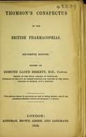 view Thomson's Conspectus of the British pharmacopoeias.