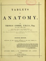 view Tablets of anatomy