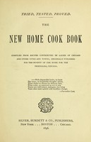 view The new home cook book