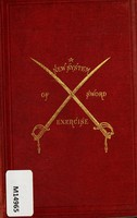 view A new system of sword exercise for infantry / by Richard F. Burton.