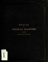 view A manual of physical diagnosis