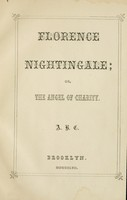 view Florence Nightingale : or, The angel of charity.