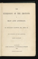 view The expression of the emotions in man and animals / by Charles Darwin.