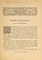 view Steam navigation.