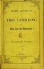 Some account of the letheon, or, Who was the discoverer?