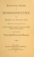 view Practical guide to homopathy : for family and private use