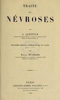 view Traité des névroses / par A. Axenfeld.