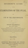 view Student's guide to the examination of the pulse, and use of the sphygmograph