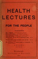 view Health lectures for the people.