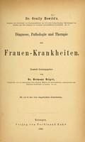 view Diagnose, Pathologie und Therapie der Frauen-Krankheiten