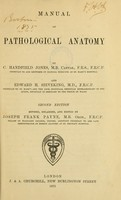 view Manual of pathological anatomy / by C.H. Jones and E.H. Sieveking.