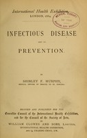 view Infectious disease and its prevention / by Shirley F. Murphy.
