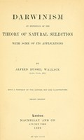 view Darwinism : an exposition of the theory of natural selection, with some of its applications